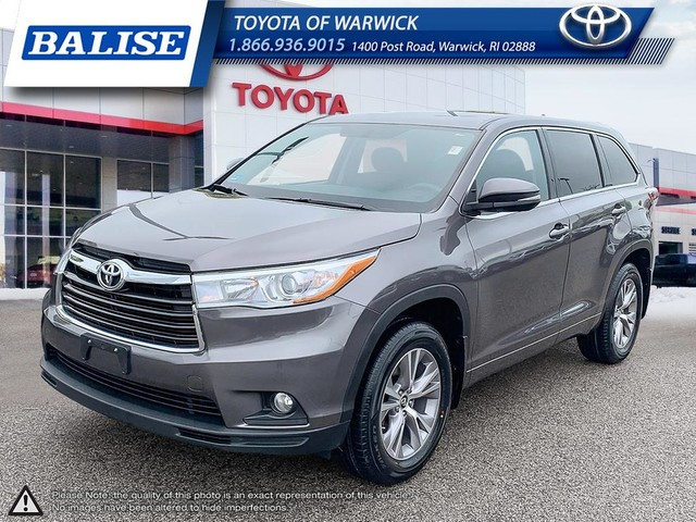 Pre Owned 2016 Toyota Highlander Le Plus