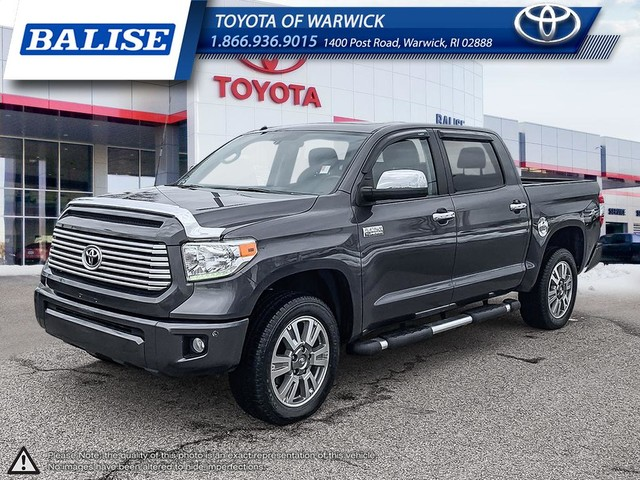 Pre Owned 2017 Toyota Tundra 4wd Crewmax Platinum