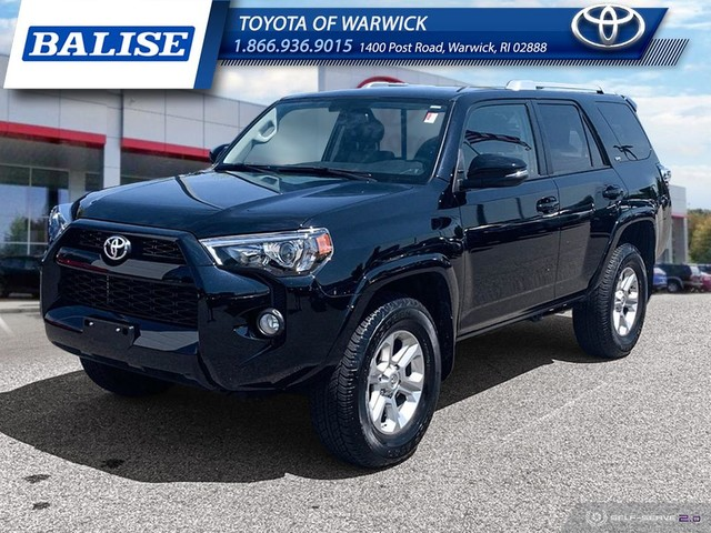 Toyota Sr5 Premium >> Pre Owned 2018 Toyota 4runner Sr5 Premium Suv In Warwick Tw539918a