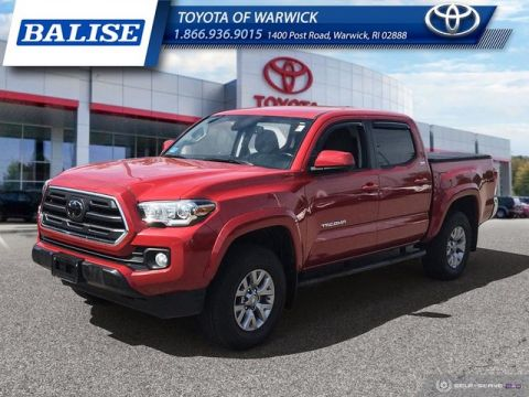 Pre-Owned 2018 Toyota Tacoma Double Cab SR5