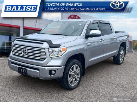 Pre-Owned 2017 Toyota Tundra 4WD Crew Max Platinum